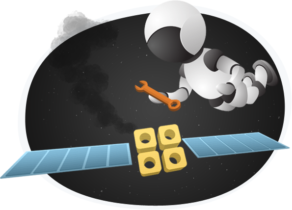 Spaces Man